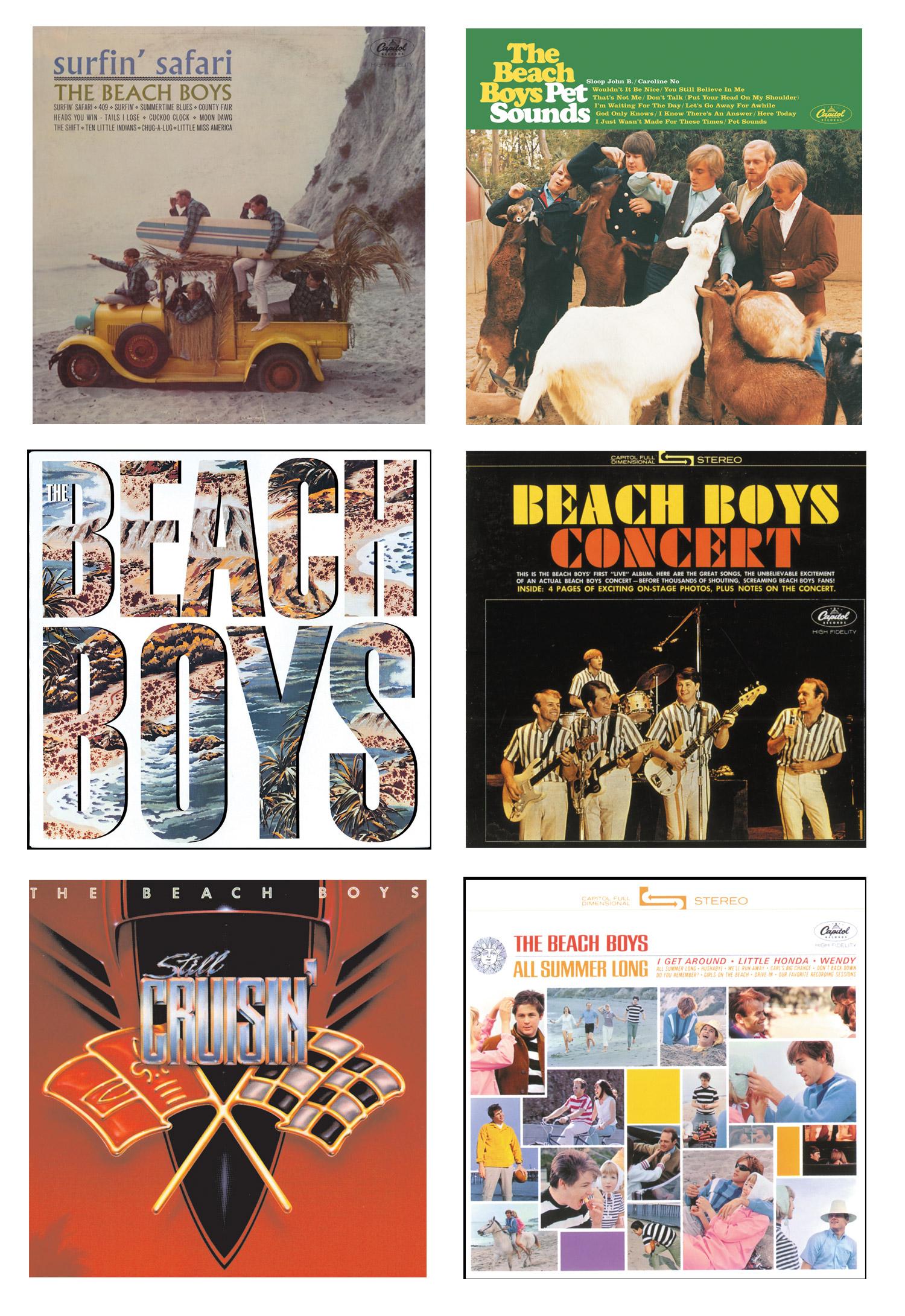 The Beach Boys x ROXY Collection